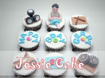 Cupcakes Set for Man