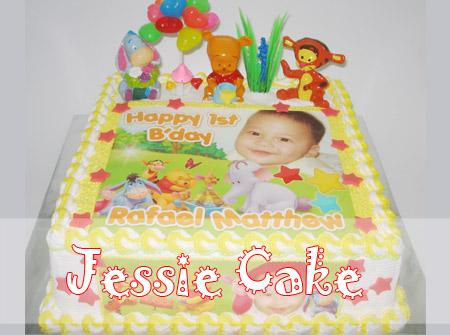 Photocake 1st Birthday