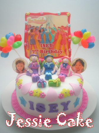 7 th Birthday Isey at KFC Riau Bandung