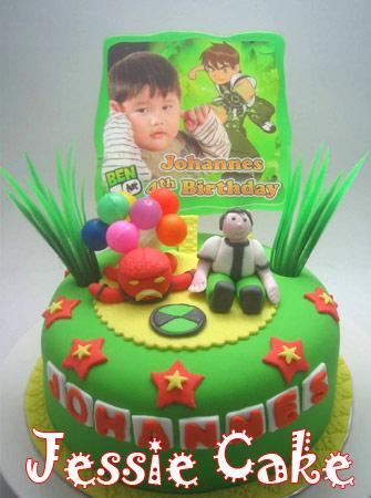 Fondantcake with Lapis Surabaya