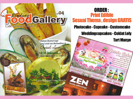 Jessiecake at Vol.4/2010 FoodGalery Bandung - Magazine