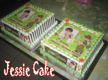 Photocake for Johannes with Lapis Surabaya