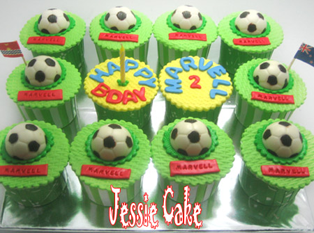 Cupcakes for Marvell order by Regina.... thanks for Order Regina