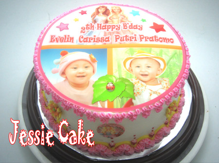 Photocake Barbie for Evelin