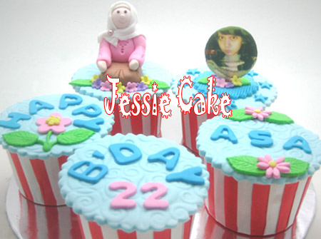 Mandarincake... Minta nuansa biru .... thanks for order
